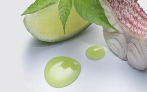 glace te verde e lime